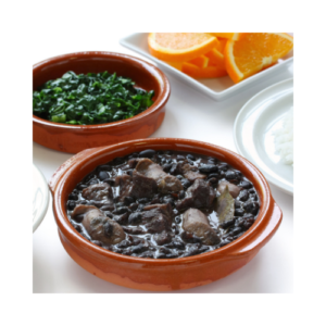Feijoada (Black Beans Seasoned with mixed Pork Products )